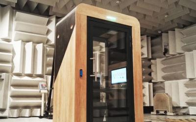 WeeM fait confiance au CEVAA pour optimiser l'acoustique de ses cabines connectées