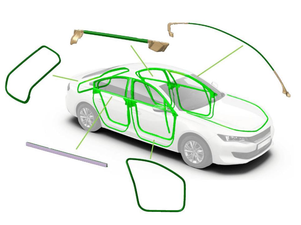 étanchéité sealing voiture