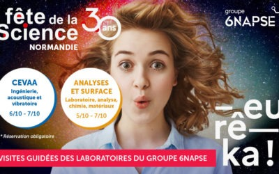 Fête de la Science 2021 : visite des laboratoires de Normandie