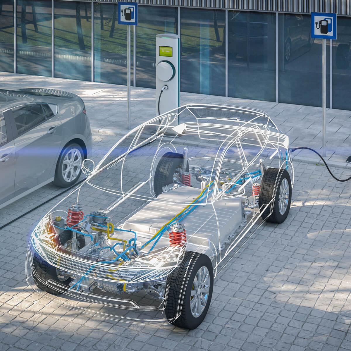 automobile voiture électrique